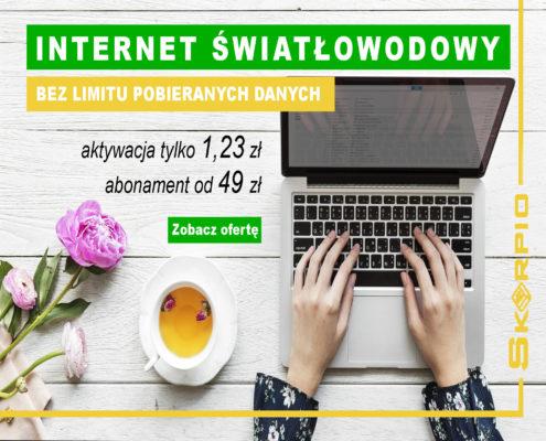 Internet światłowodowy