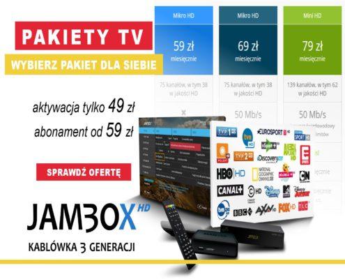 Pakiety telewizyjne